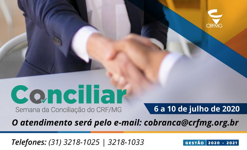 Diretoria do CRF/MG busca soluções para o farmacêutico mineiro e institui a Semana de Conciliação para negociação de débitos